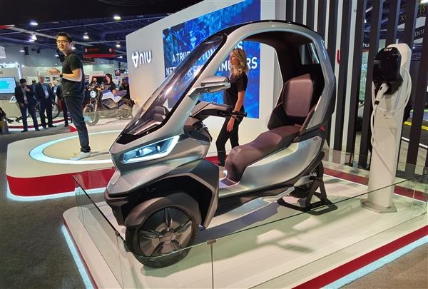 小牛CES发布自动驾驶三轮电动摩托车:支持5G、续航200km-唯轮网