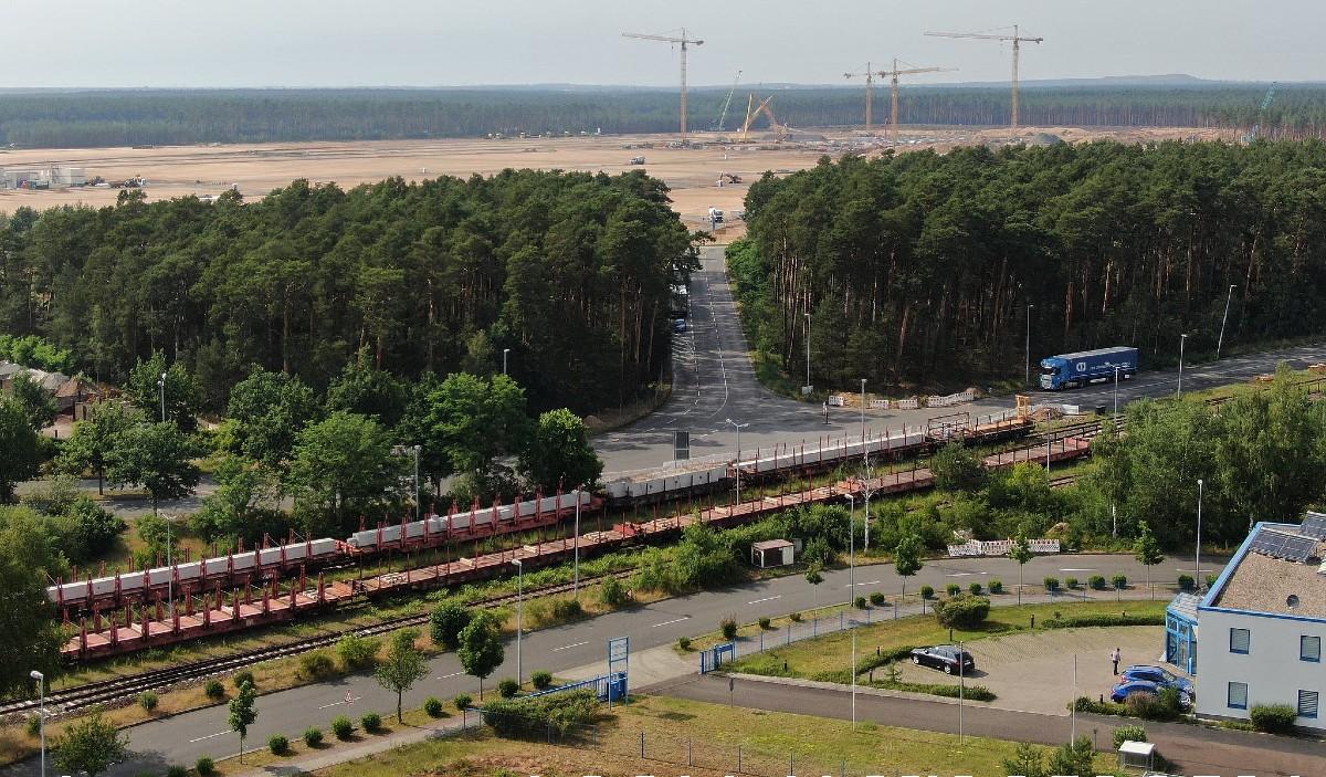 特斯拉柏林超级工厂建筑结构即将开始建设