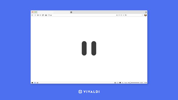 "Vivaldi浏览器更新引入""中断模式""以帮助用户平衡工作和休息"