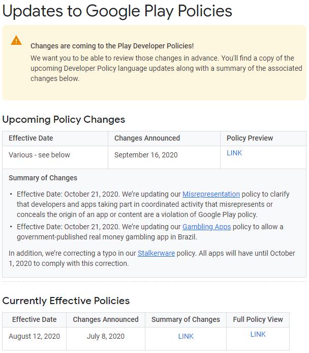 """新版应用追踪政策下月生效 谷歌临时纠正了一个""""不恰当""""的描述"""
