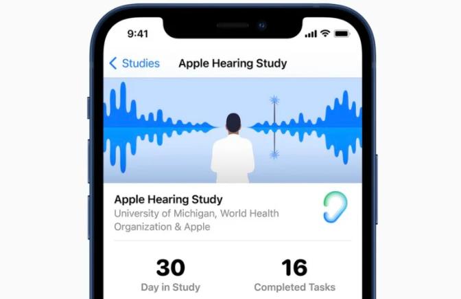 """苹果在""""世界听力日""""前分享 """"苹果听力研究 """"见解"""