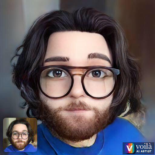 Voila AI Artist风靡社交网络:将照片变成2D/3D卡通造型