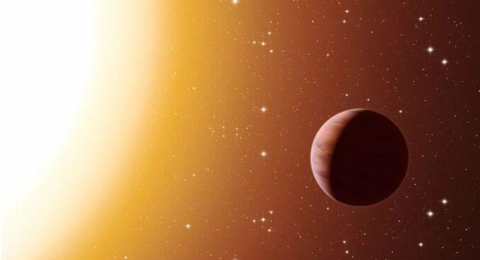 """天文学家在""""下铁雨""""的巨型系外行星上发现奇怪的信号 thumbnail"""