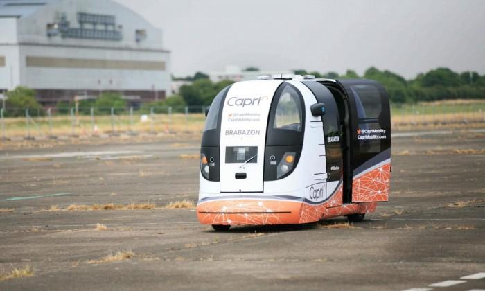 【滚动】自动驾驶研发机构CapriMobility正在英国测试无人驾驶汽车