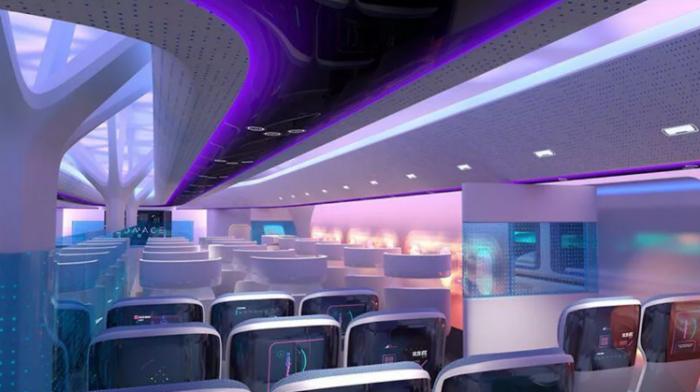 """空客展示翼身融合体""""MAVERIC """"验证机  希望改变客机的设计"""