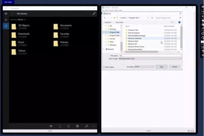 [多图]一起来了解为双屏设备而生的Windows 10X系统