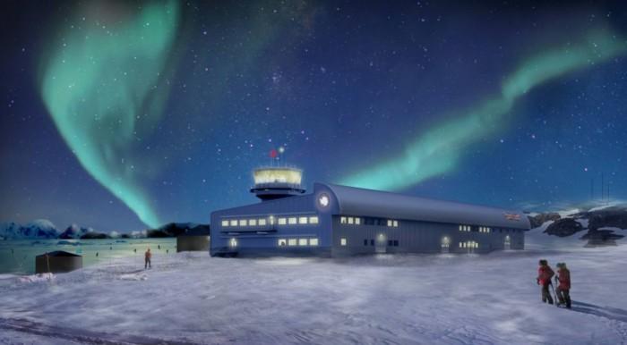 英国南极考察局在南极洲开工建设全新研究大楼