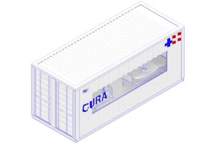 集装箱ICU问世 以帮助世界各地对抗新冠疫情