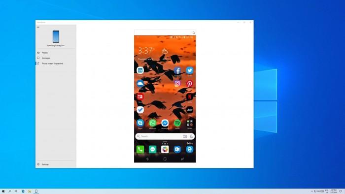 Your Phone支持手机PC间文件拖拽 三星用户将抢先体验