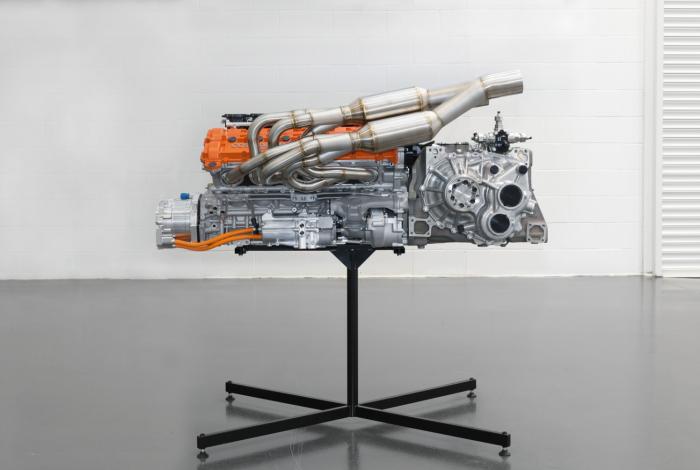 迈凯伦F1正统继任者发布:空气炮+万转V12