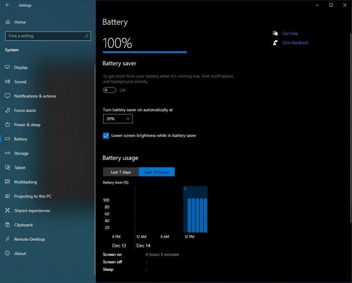 [圖]Windows 10精細化電池管理:讓你清楚知道應用耗電情況