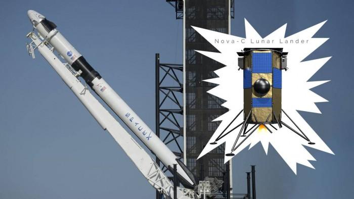 SpaceX获新合同:协助IM/NASA将冰钻送往月球
