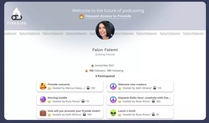 [图]初探马克·库班创办的Fireside播客应用 iOS端已开启测试