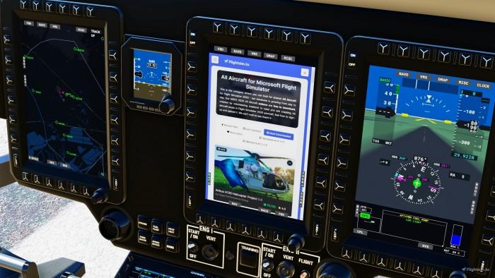 《微軟飛行模擬》不支持直升機 但這款MOD做到了 - 遊戲