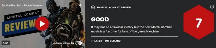 《真人快打》电影IGN评7分 为游戏粉丝带来有趣时光
