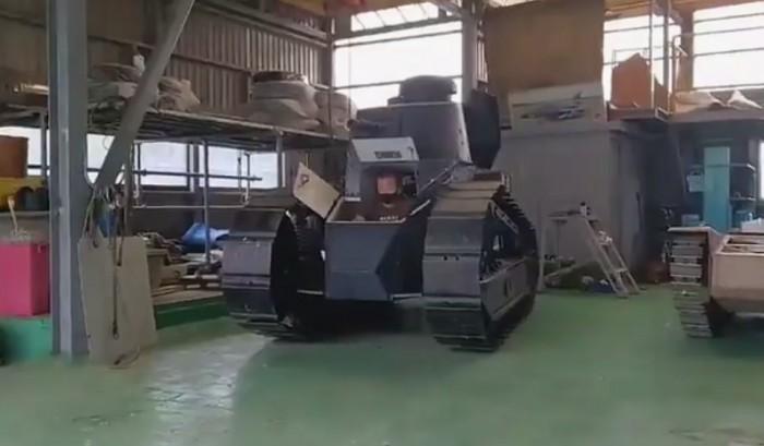 高玩打造實大可動《少女戰車》坦克 最新演示驚呆網友 - 遊戲