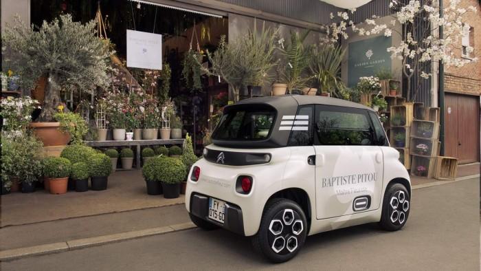 雪铁龙推出Ami Cargo电动微型货车 适合小型企业运输货物