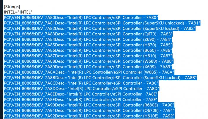 Intel-600-Series-Chipset-Driver-Leak-_-Z690-X699-W685-W680-H670-B660-H610-B610-Q670.png
