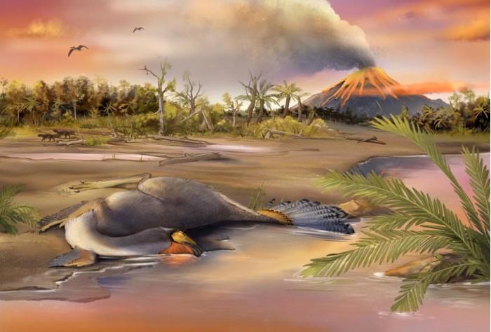 Jehol-Biota-and-Caudipteryx.jpg