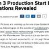 漫威《蜘蛛侠3》将于7月开拍 影片取景摄制地点曝光
