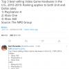 NPD公布三组北美主机销量历史排行 PS4稳居十年第一