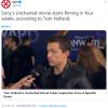 虽然还没有导演 荷兰弟透露《神秘海域》电影四周后开拍