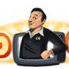 Google Doodle纪念墨西哥喜剧演员Chespirito的91岁冥诞