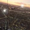 《微软飞行模拟》公布新截图 高空俯瞰城市与自然风光