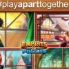 世卫发起#PlayApartTogether计划 鼓励人们在隔离期间玩游戏解闷
