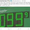 """已跌穿地板价 国内油价今天不调整:继续""""5元时代"""""""