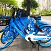 哈啰第五代单车上线:App一键锁车+黑科技轮毂锁