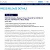由盖茨基金会支持的美国第二种潜在新冠疫苗进入人体试验阶段
