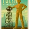 美国俄克拉荷马州为吸引马斯克设厂 改造23米雕像