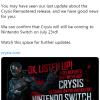 《孤岛危机》将于7月23日如约登陆任天堂Switch平台