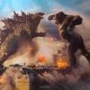 《哥斯拉大战金刚》曝光首张宣传照 两巨兽在航母上打架