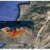 NASA公布了贝鲁特爆炸事件后的卫星照片