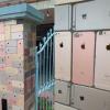 TitTok网友花费数年时间收集iPhone外壳做成篱笆墙