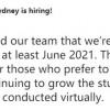 悉尼一家游戏工作室宣布:居家远程工作至少持续到明年6月