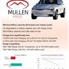 Mullen公布固态电池测试结果:能使电动车续航里程最大达到1030公里