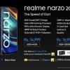 realme narzo 20 Pro发布:最便宜65W快充手机 只要1380元