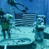 """美国宇航局""""阿尔忒弥斯""""月球任务水下训练正在进行中"""