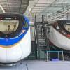 时速160公里地铁列车亮相广州地铁