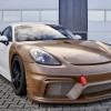 保时捷展示用可再生原材料打造的新赛车车身