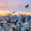 [图]Volocopter和日本航空公司达成合作 计划商业化空中的士业务