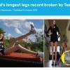 超1.35米!17岁美国少女打破世界最长腿纪录