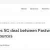 意大利阻止本国电信集团Fastweb与华为签署5G协议