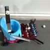 15岁女生发明捡乒乓球机器人 灵感来自农田收割机