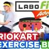 游戏健身两不误:Switch玩家尝试用动感单车玩《马力欧卡丁车》