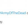 扎导新片《活死人军团》定档 5月21日Netflix播出