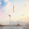 SpaceX海上发射台今年下半年或能运营:由漂浮钻井平台改造